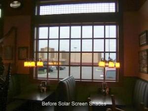 Lexington, KY Before Solar Screen Shades